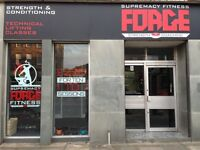 Supremacy Fitness Forge - new private coaching studio!