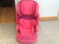 Full highback height adjustable group 2 3 car seat for 15kg upto 36kg(4yrs to 12yrs)washed& cleaned