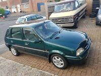 Rover 100 1.4 gsi 12k from new