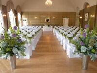 Wedding chair covers and sashs for sale