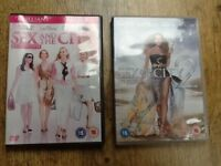 2 DVDS : SEX IN THE CITY MOVIE & SEX IN THE CITY MOVIE 2