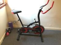 Confidence pro excercise spin bike.