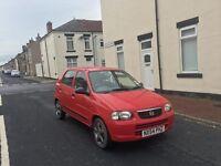 Suzuki Alto Gl 1.1 £30 tax a year