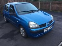 Renault Clio 2003 1.2 16v Expression 5 dr Door Service History 12 Months Mot CHEAP TO RUN INSURE TAX