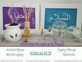 hijama cupping moxibustion