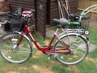 Sunrunner ladies electric bike