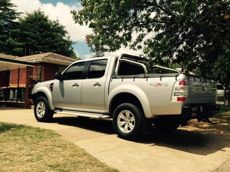 Ford Ranger 4x4 2014 Orange Ford Ranger Xlt 4x4