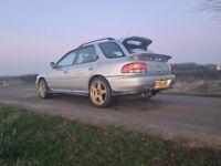 Subaru WRX STI V3 STI wagon JDM import 1996