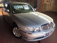 2001 51 ROVER 75 CLUB-LOW MILES -BARGAIN