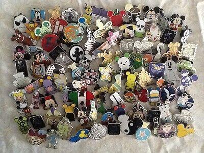 DISNEY TRADING PINS-Lot Of 50-No Duplicates-Free Shipping-USA Seller