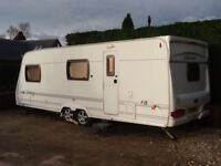 6 Berth Twin Axle Touring Caravan for Sale