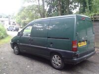 Scudo van as spares or repairs must be sold space needed Bargains