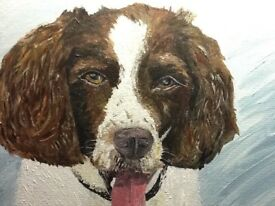 Pet portraits - original painting of your dog or cat