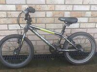 Islabike. Cnoc children's bike black 16 inch wheel