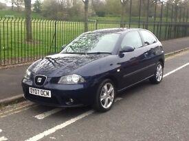 Seat Ibiza 1.4 Petrol BXW 3 Door Hatchback ( 1 FORMER KEEPER )