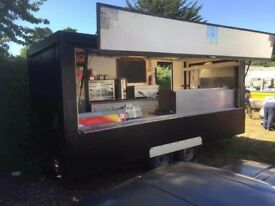 18ft Catering trailer.. Very clean!!