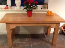 Scottish Oak Table
