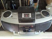 aiwa radio cd player boombox