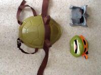 Ninja Turtle dressing up