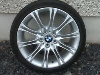 18INCH 5/120 BMW ALLOY WHEELS WITH TYRES FIT MOST MODELS