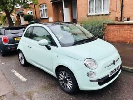 Fiat 500 Lounge for Sale Mint green