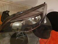 Vauxhall astra j passager side headlight