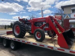 Heavy equipment trailer towing & Float service