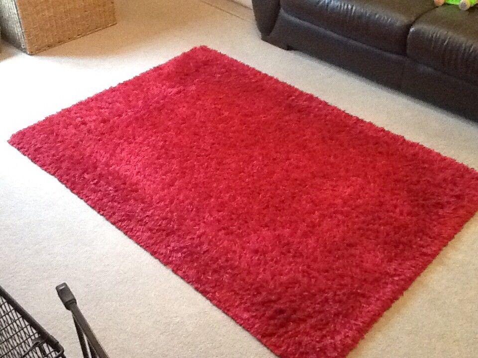 Next red rug 170x120cm, good condition. Carterton ...