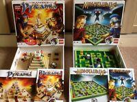 """2 Lego games """"Ramses Pyramid"""" & """"Minotaurus"""" excellent condition."""