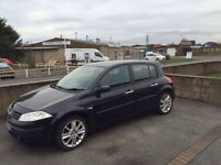 Black Renault megane £800 or SWAP