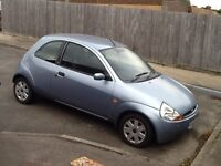 PALE BLUE 06' FORD KA FOR SALE. 8 months MOT and runs well.