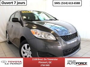 2014 Toyota Matrix GRP COMMODITÉ, A/C, CRUISE, BLUETOOTH VERY CL