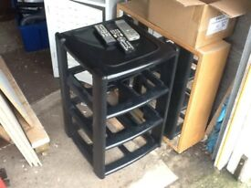 Shoe or book rack / Storage unit