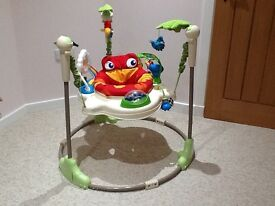 Jumperoo rainforest by Fisher Price , good condition