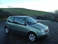 Vw lupo limited edition (cambridge model)
