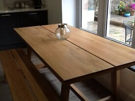 Kielder Dining Table. Still in box. Duplicate order error - I now have 2! Size 1850 x900x750.
