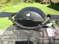 Weber Q gas BBQ