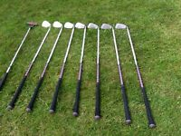 Ladies left hand golf clubs with carry bag