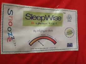 """Double Mattress (4'6"""") soft to medium - has had light use as a spare bed"""