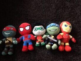Marvel Heros and Teenage Ninja Turtles