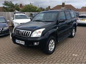 TOYOTA LANDCRUISER COLORADO LC5 D-4D AUTO,5 DOORS **FULL SERVICE HISTORY**FULL LEATHERS & SAT NAV**