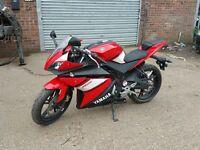 **STUNNING** 2010 59 Reg Yamaha YZF-R125 Motorbike (not raptor,honda,r1,ducati,moped,quad,bmw)