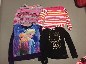 Girls size 6 tops