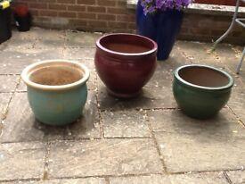Large garden pots for sale