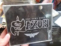Saxon ‎– The Very Best Of (1979-1988), 3 CD Box Set, VG.