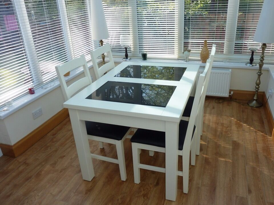 Dining Room Table With Granite Inserts Dining Room Ideas