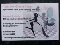 TwinnysGleamClean - DOMESTIC CLEANING/ END TENANCY CLEANING
