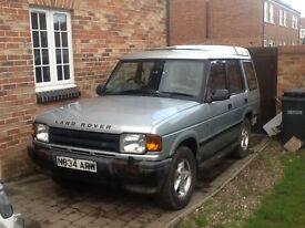 Land Rover Discovery 1996 Spares or repair