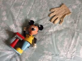 Old mickeymouse puppet