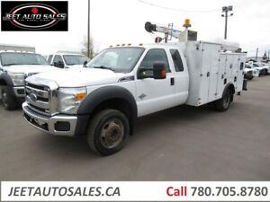 2013 Ford F-550 Service Truck Crew Cab Service Truck
